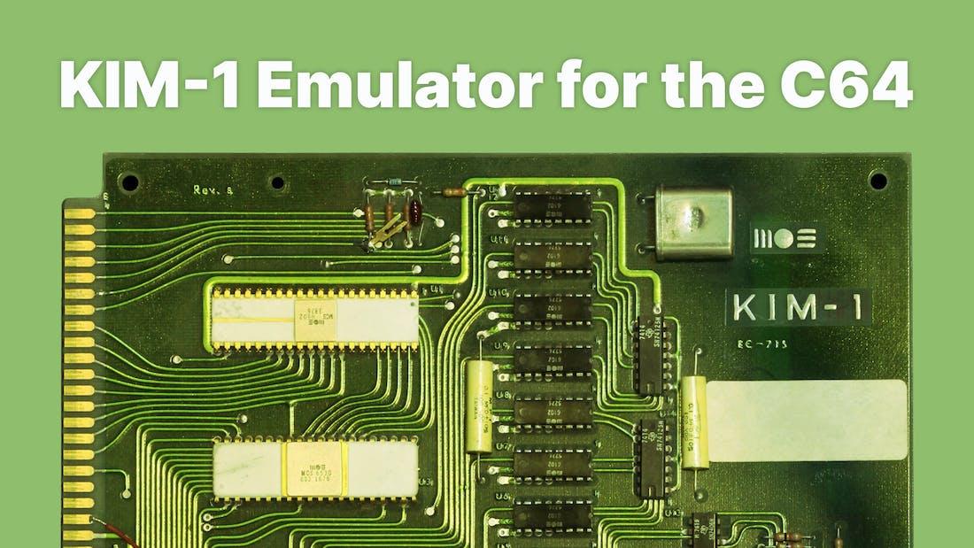 KIM-1 Emulator for the C64