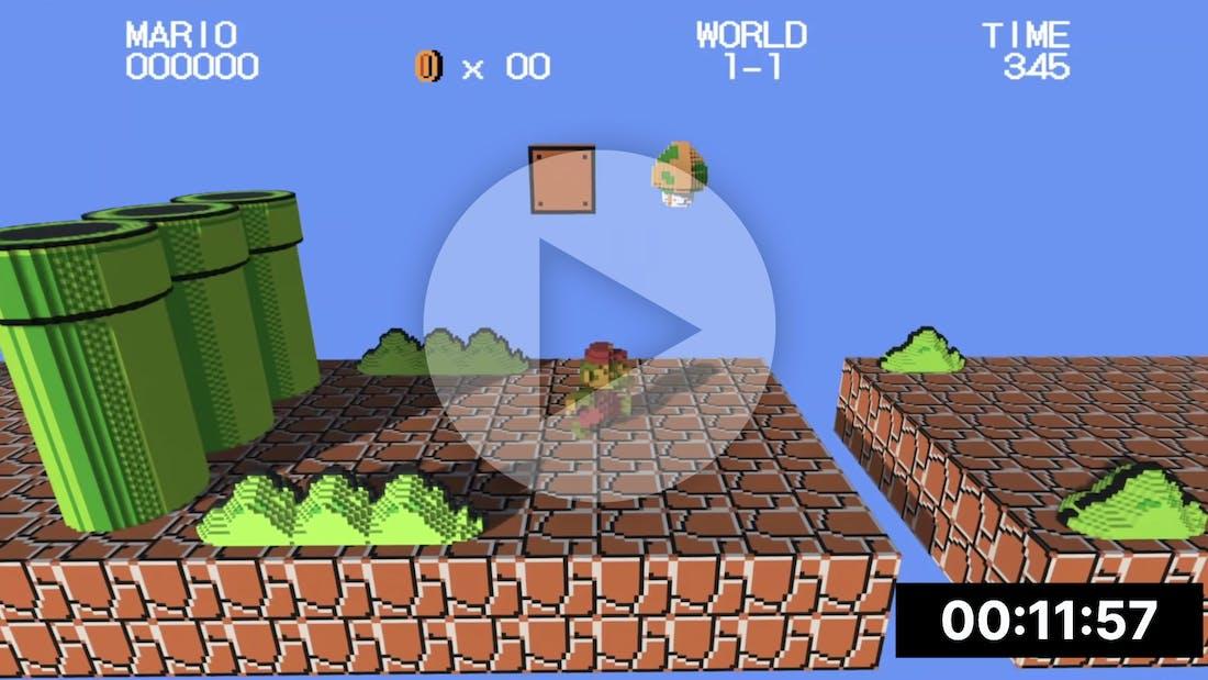 Super Mario in 3D by CodyCantEatThis