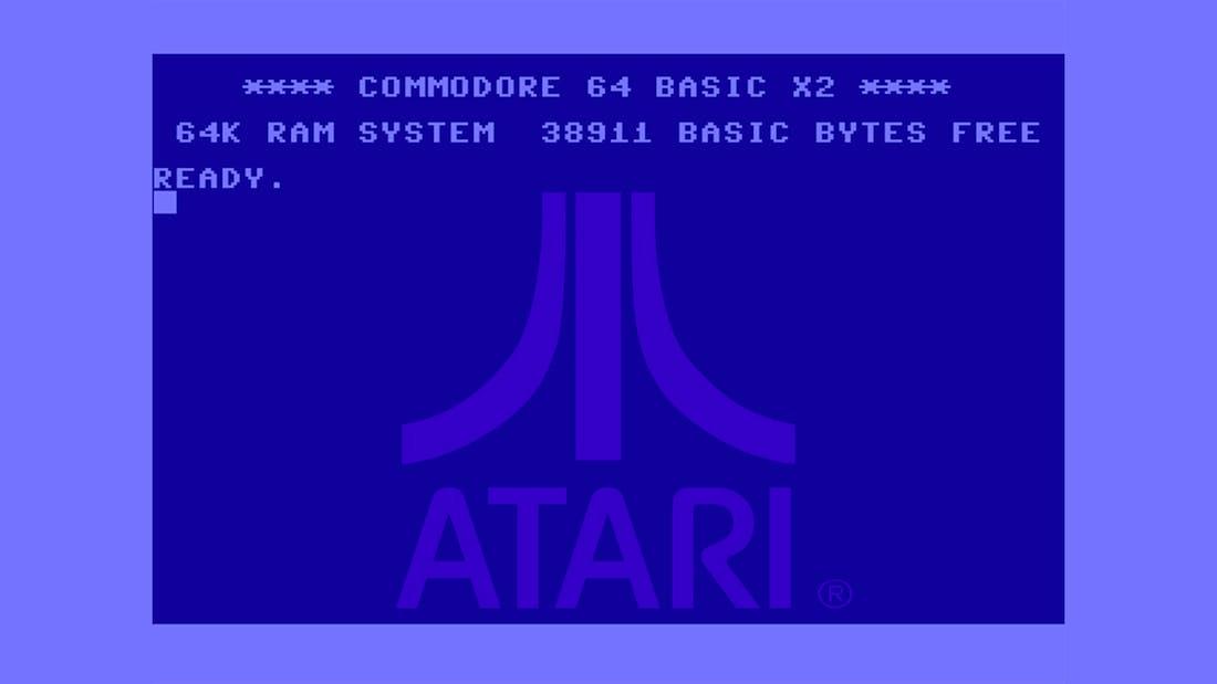 C64 Kernel On Atari