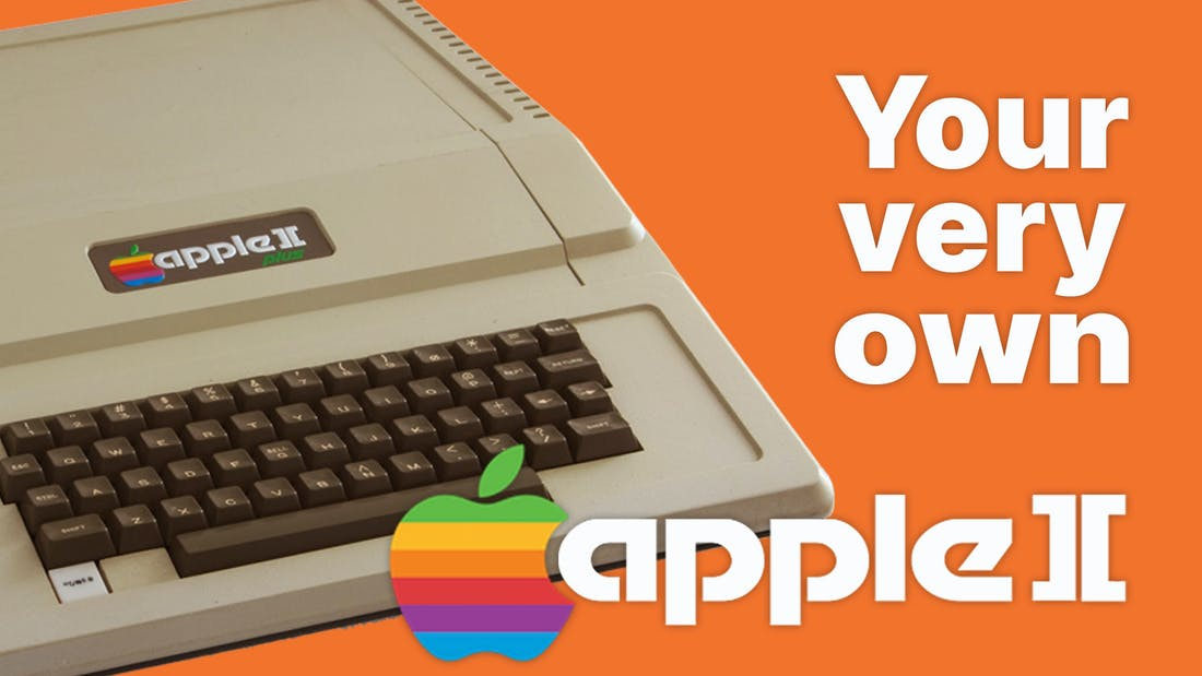 Your very own Apple ][ plus