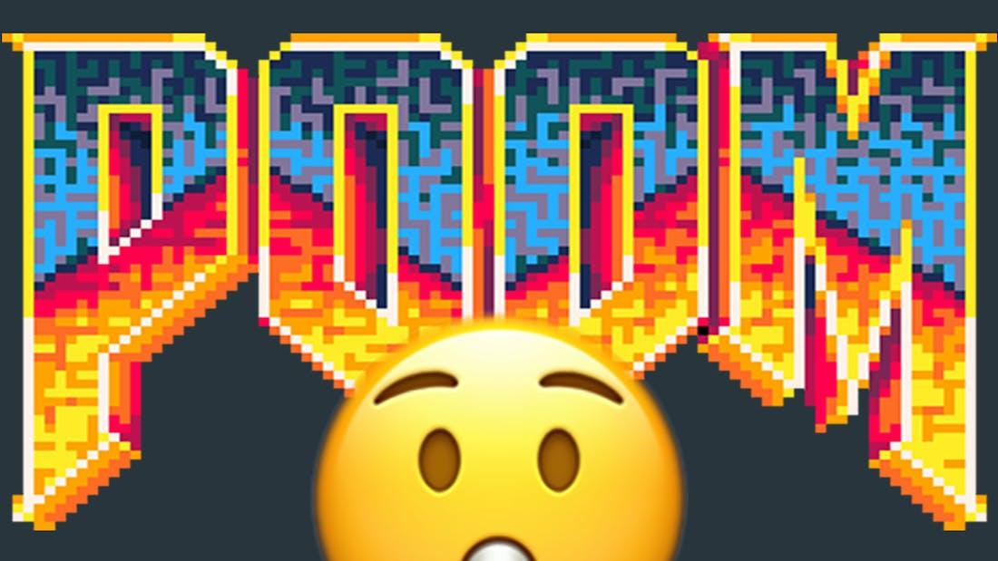 8-Bit Doom - Poom - Pico8