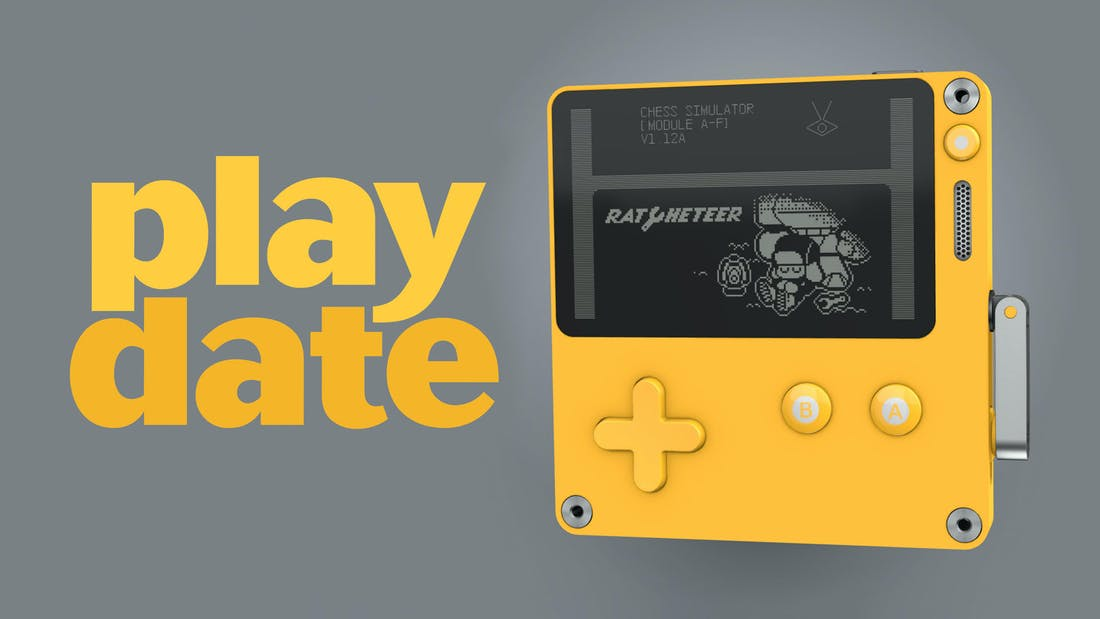 Playdate - Game Console with a Crank
