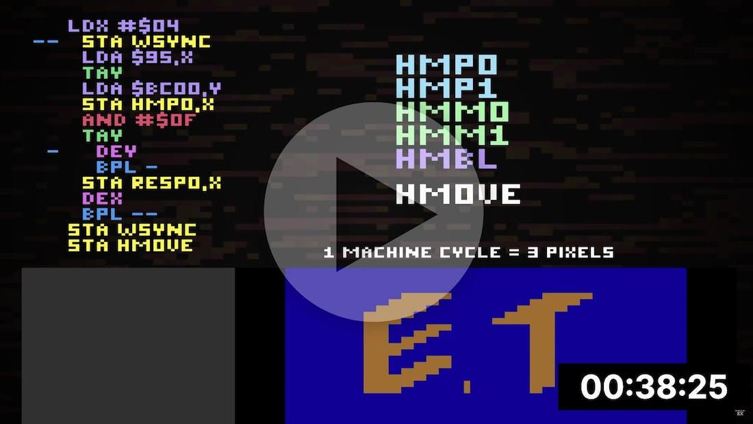 Racing the Beam - Atari 2600