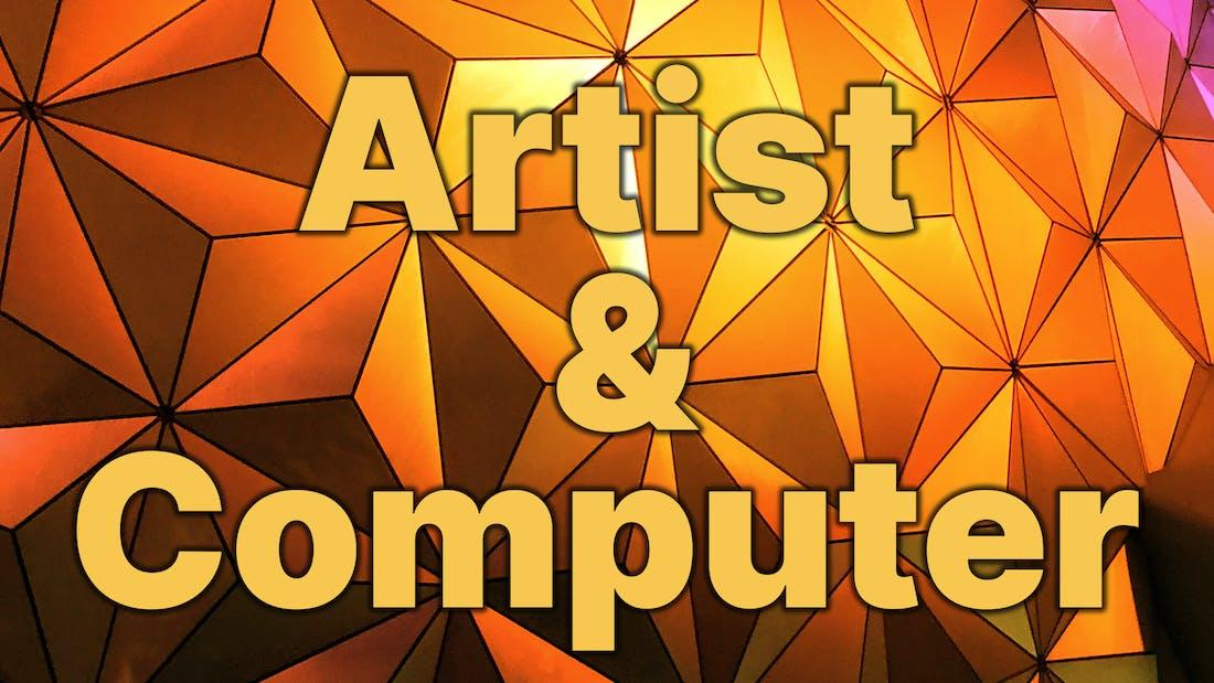 Artist & Computer Book