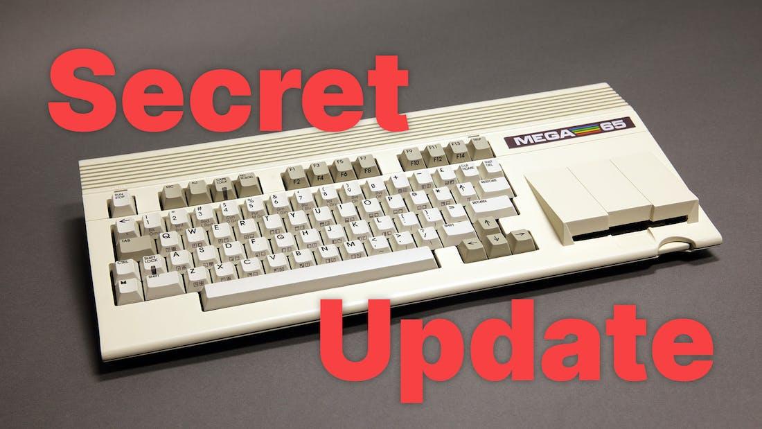 Mega65 - Secret Update