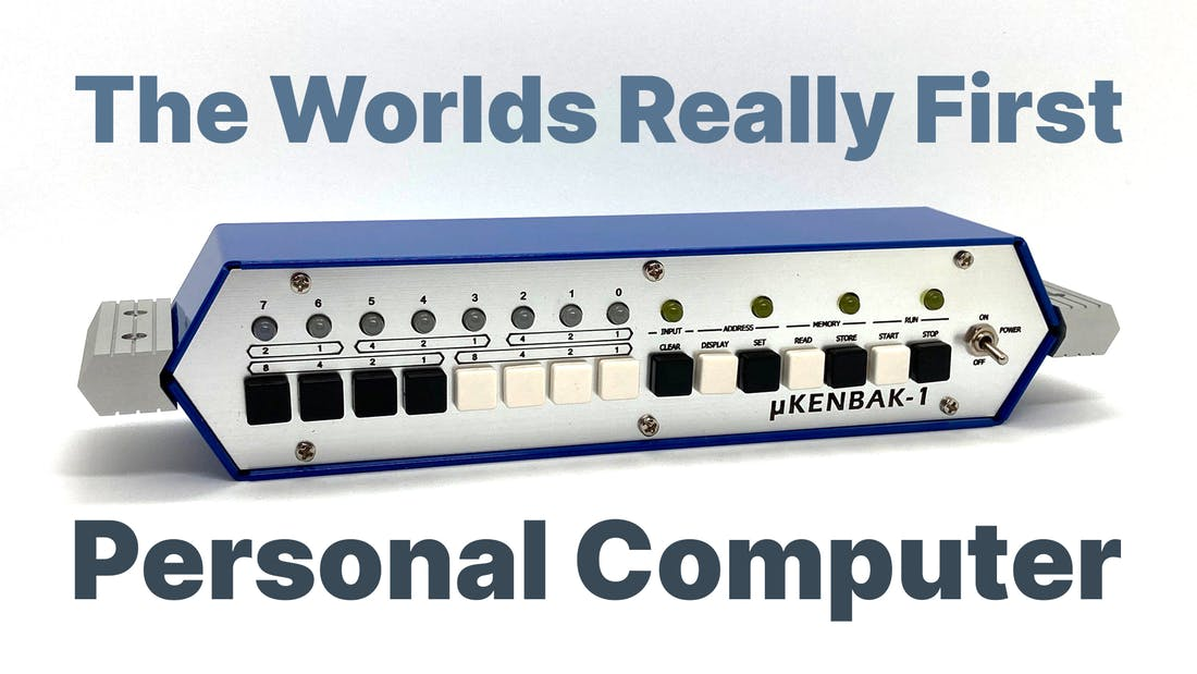 The Really First Personal Computer