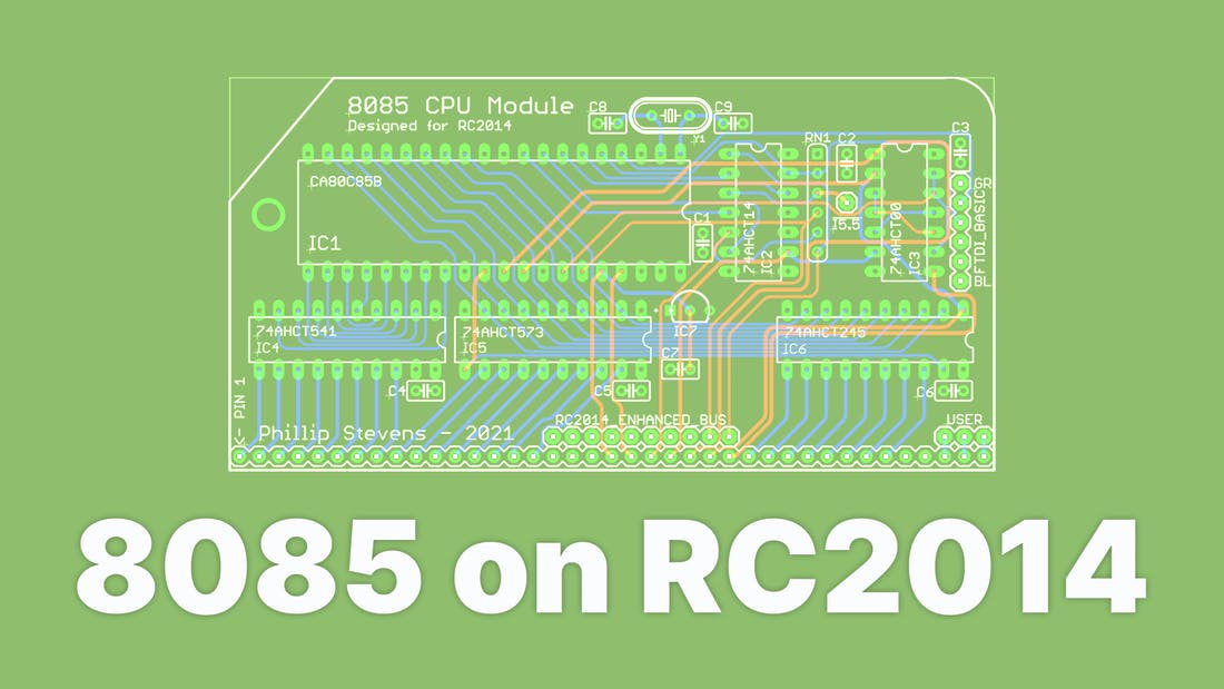 8085 CPU For The RC2014