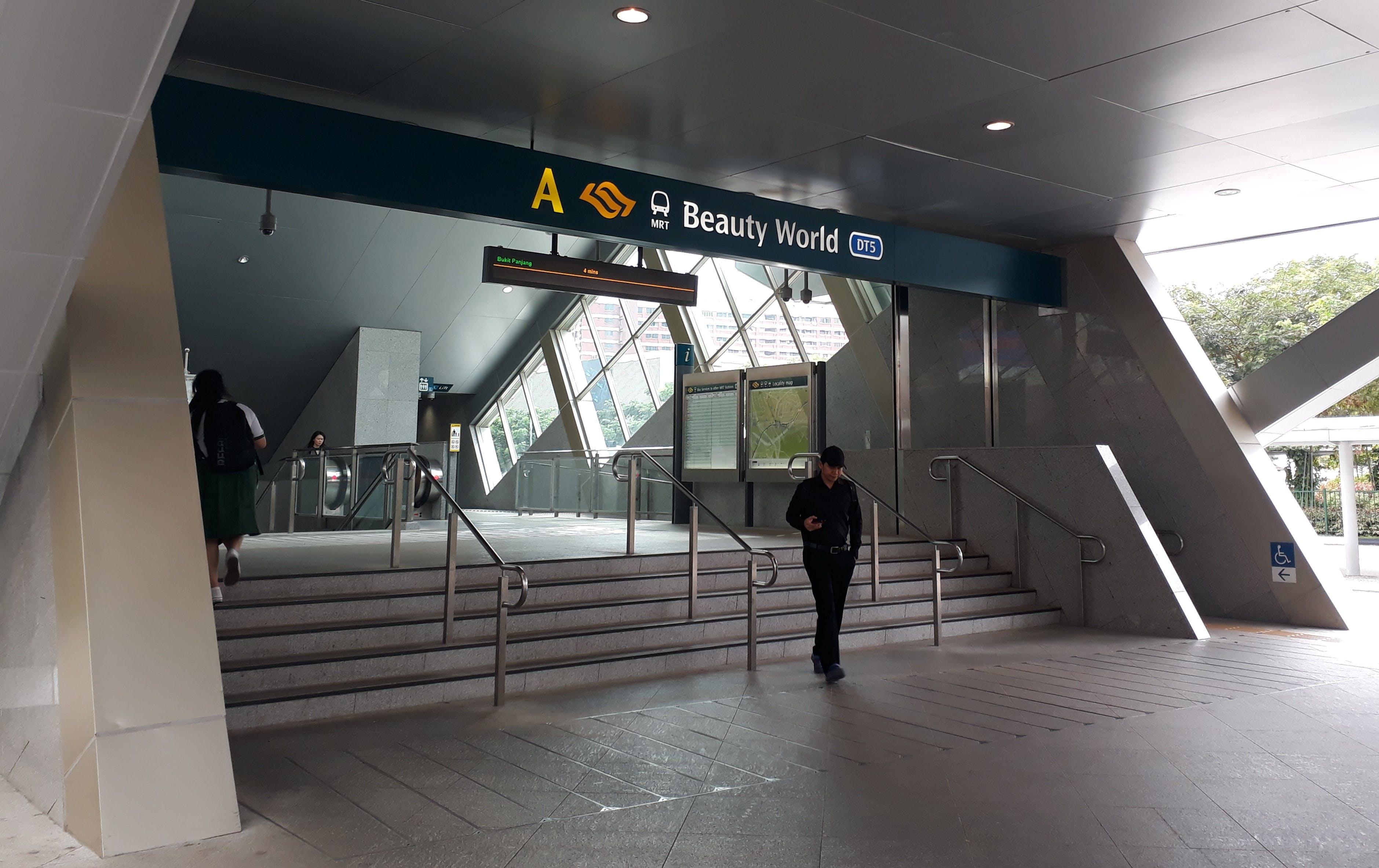 Beauty World MRT Station Exit A