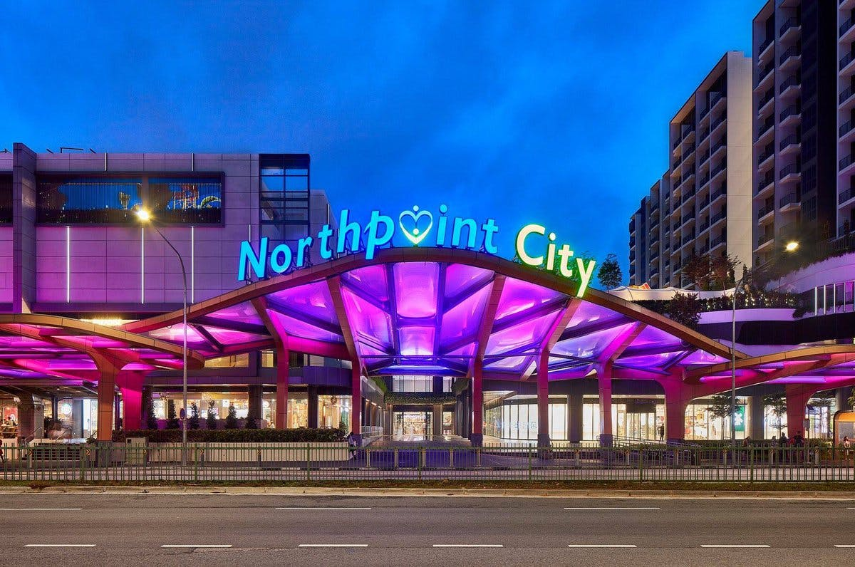Northpoint CIty shopping mall