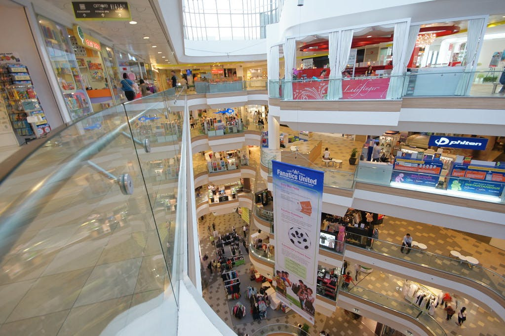 Retail options at Tampines 1
