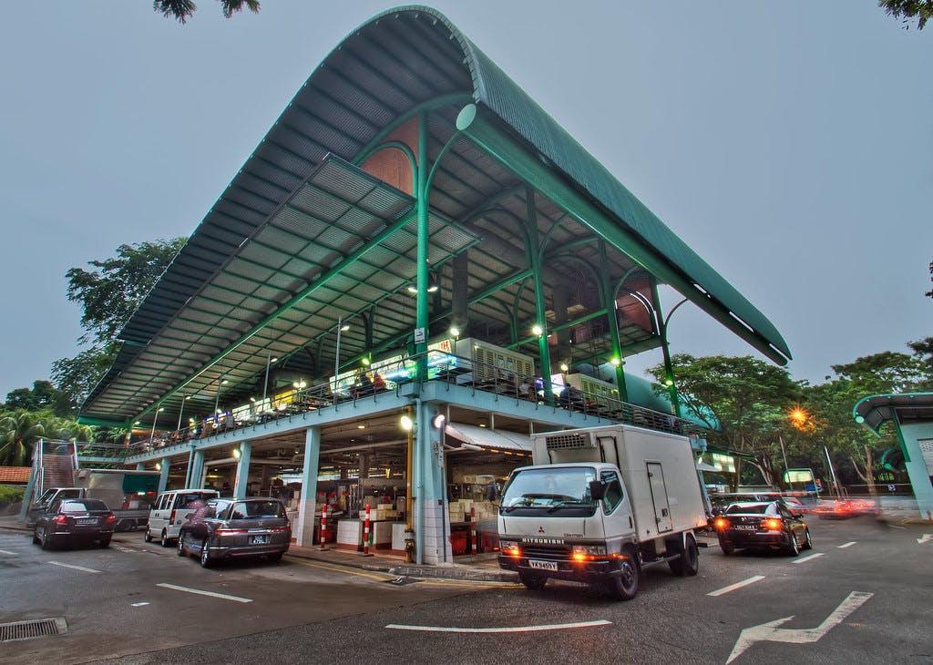 Bukit Timah Market & Food Centre near Verdale Condo