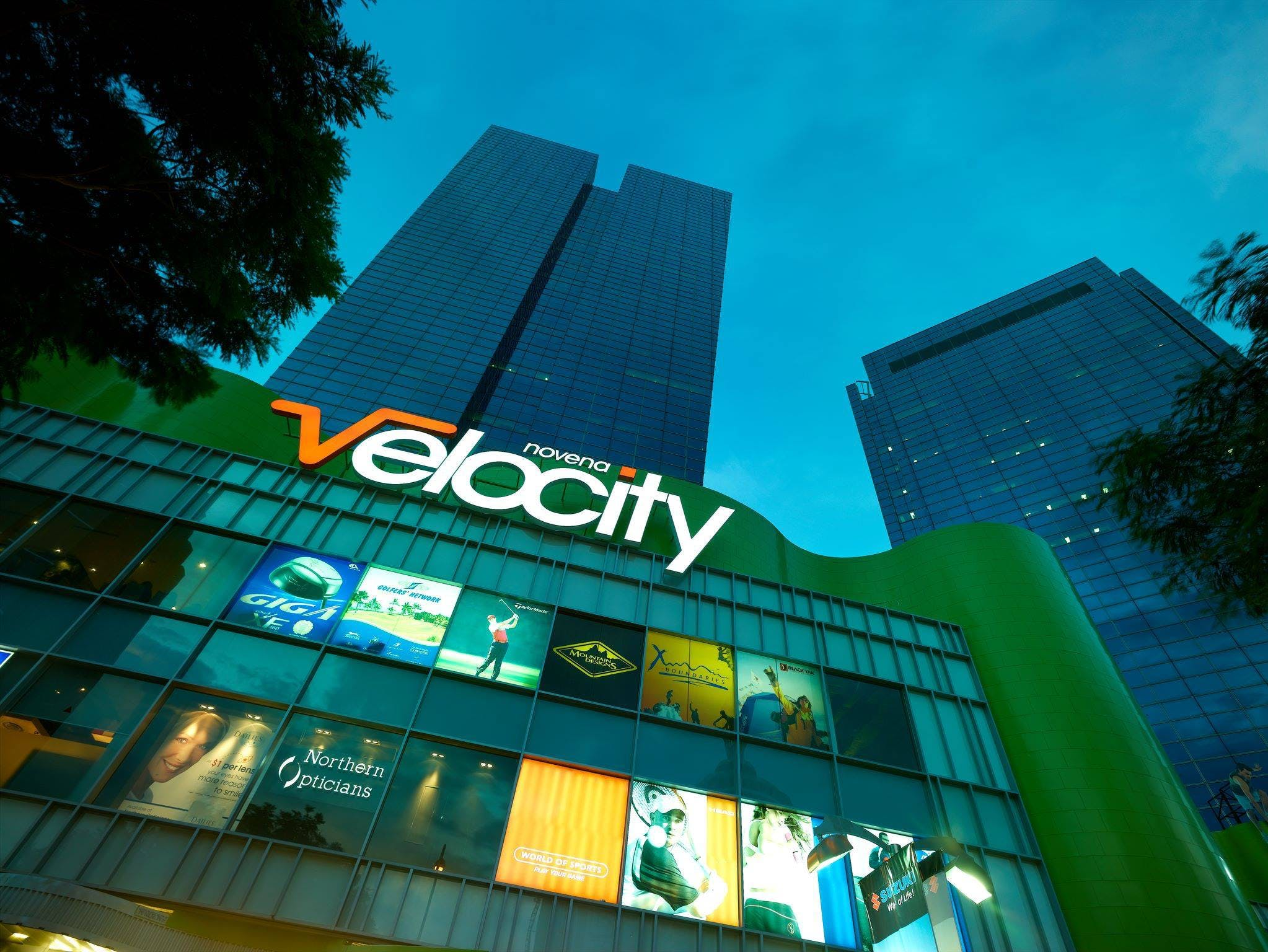 Velocity at Novena, along with numerous other shopping malls, is within close reach of residents at Neu Novena.