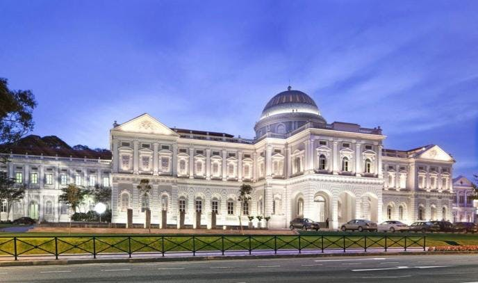 The National Museum of Singapore, which is within walking distance of Sophia Hills