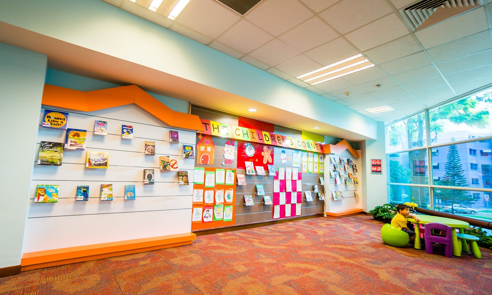 Children's Section at Jurong West Public Library