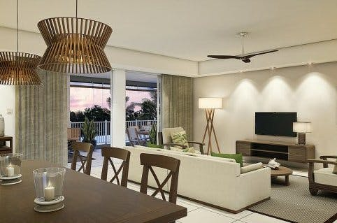 An artist's impression of a home at Ki Residences
