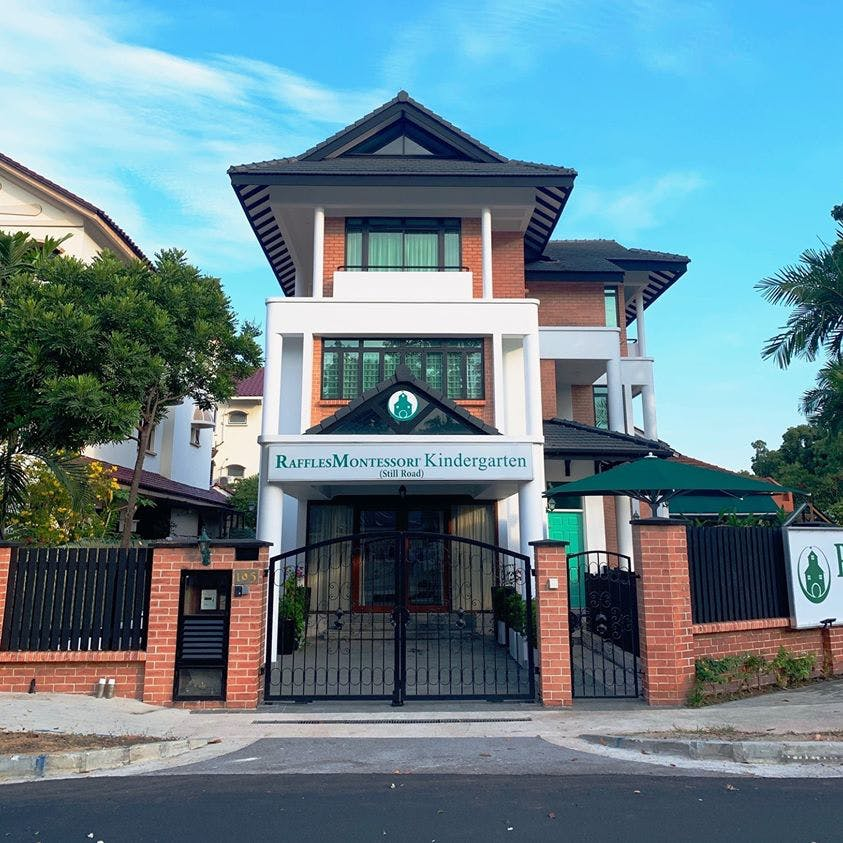 Raffles Montessori Kindergarten at Still Road makes for an immensely convenient kindergarten option for residents of TEDGE condo.
