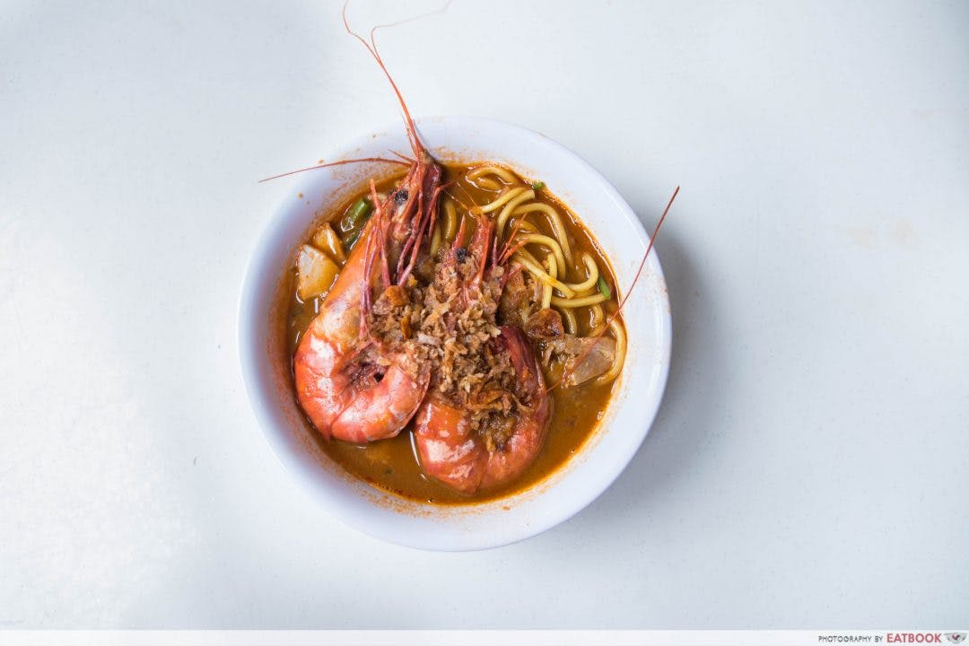 Ah Lipp's Penang Prawn Noodles is one of the many favourable heartland food options that residents of Le Quest can choose from.