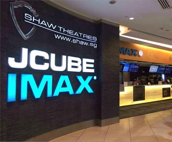 JCube's IMAX within Whistler Grand's vicinity