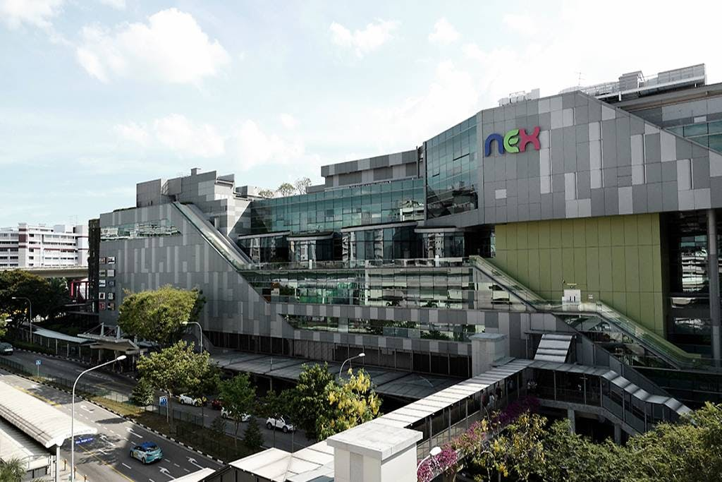 Nex Shopping Mall and Serangoon MRT just a 5 minutes walk from Forest Woods.