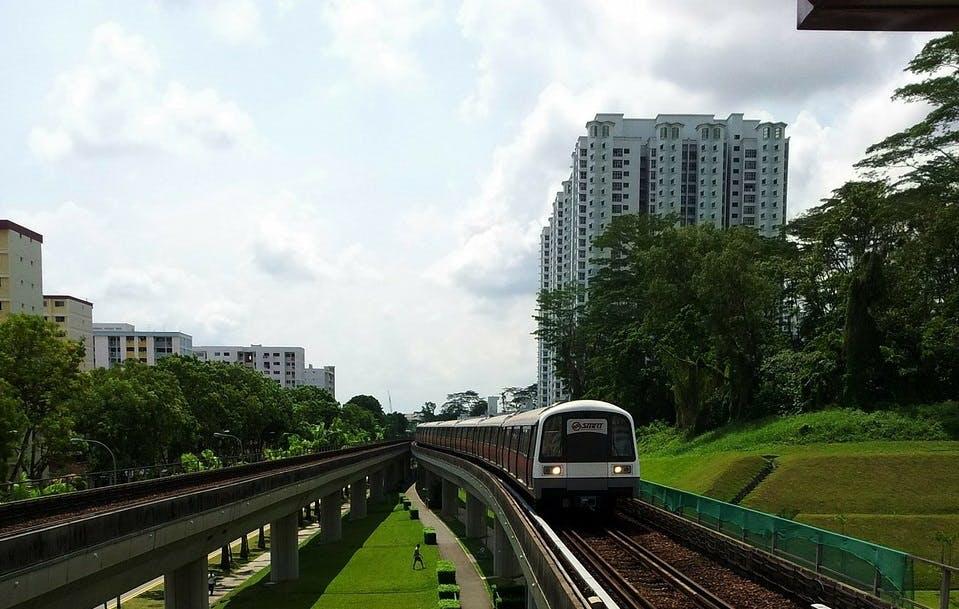 Singapore's Iconic MRT Train