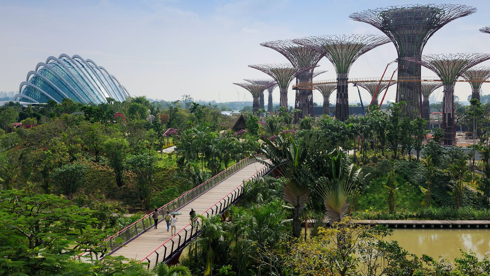 Gardens by the Bay is one option for residents of V on Shenton looking to relax