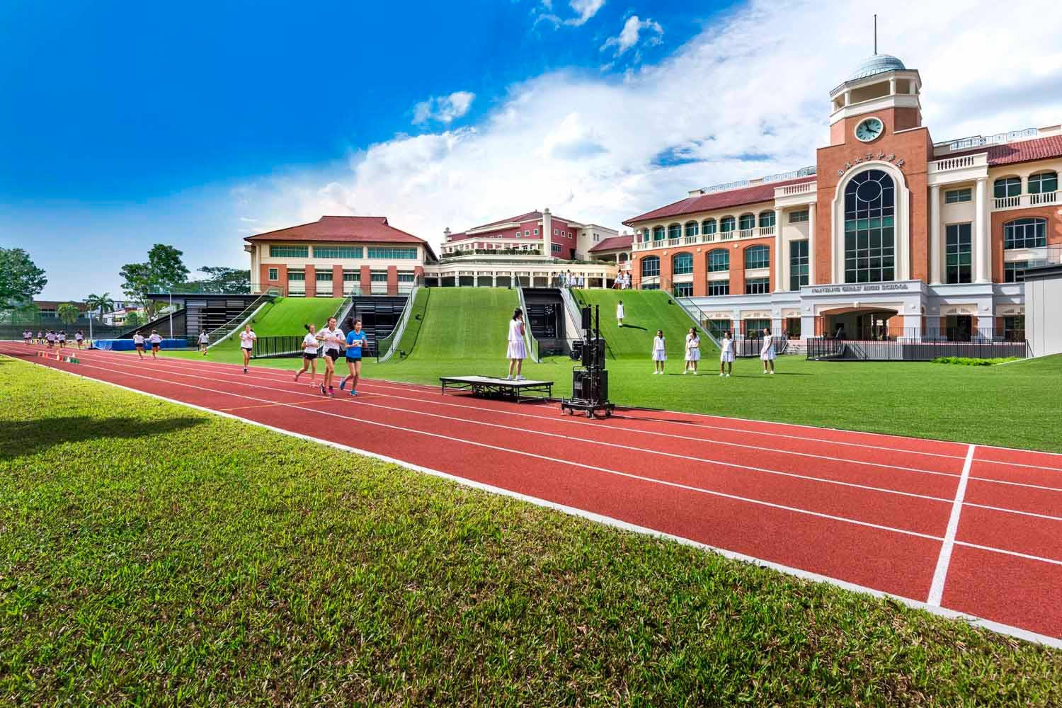 Nanyang Girls' School, one of hte top schools within Fourth Avenue Residences enclave