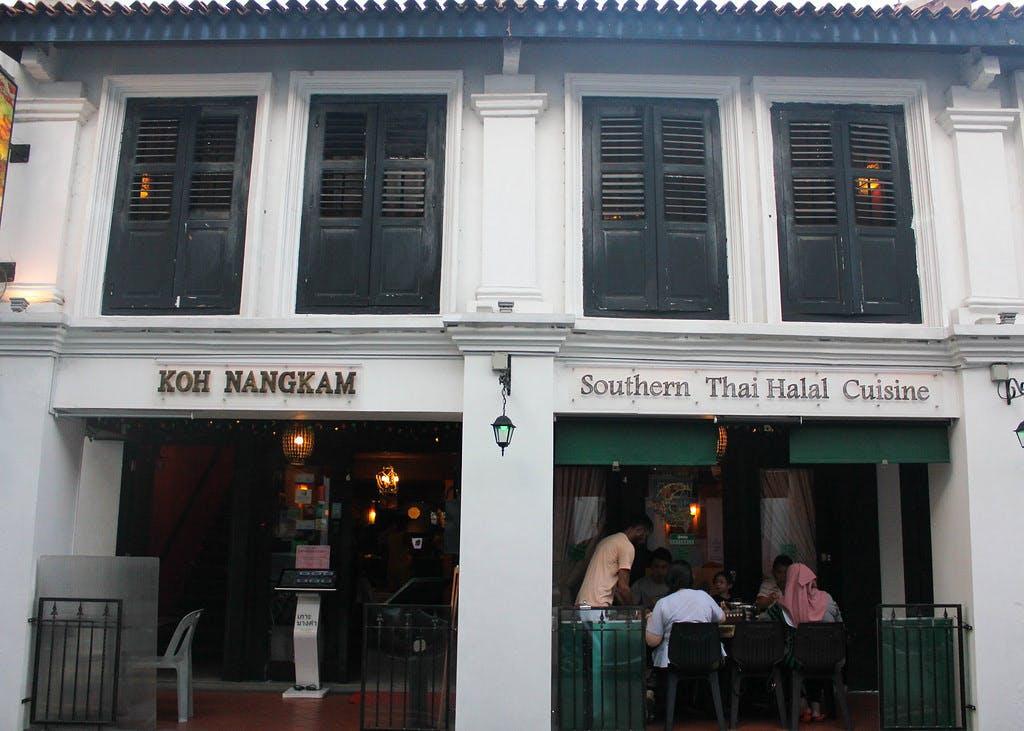 Eateries along Beach Road