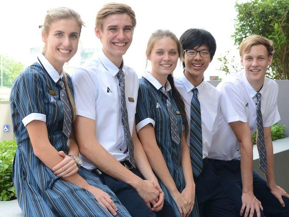 Students at Australian International School Singapore