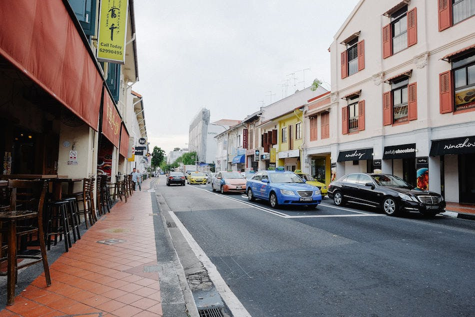Marine Parade is filled with well-preserved cuisines as well as conserved houses lined up in the myraid of little streets.