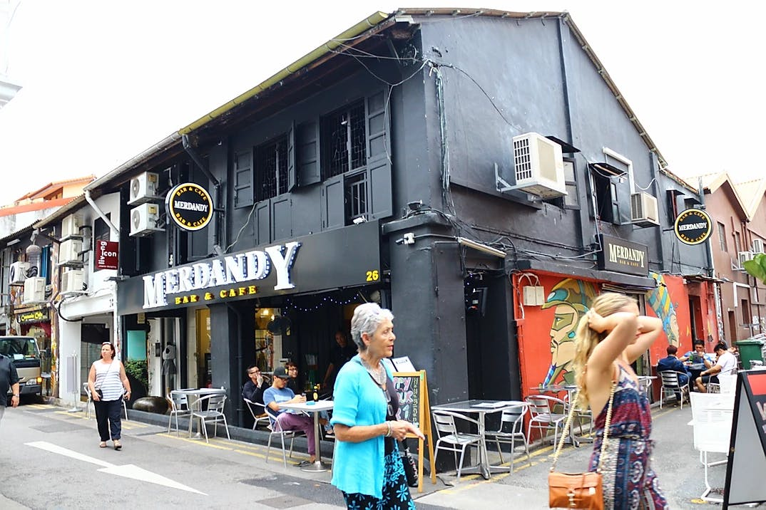 Merdandy Bar & Cafe at Guillemard Road.