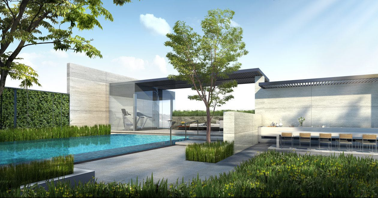 Infinity Pool at The Addition. 99.co.