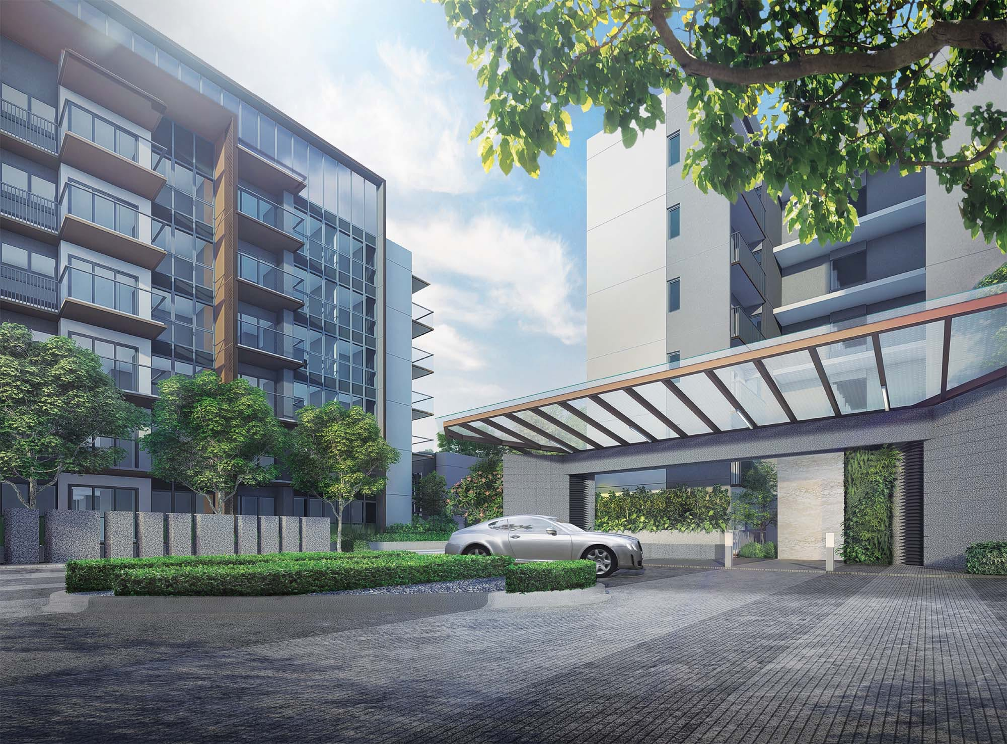 Artists' impression of Fourth Avenue Residences
