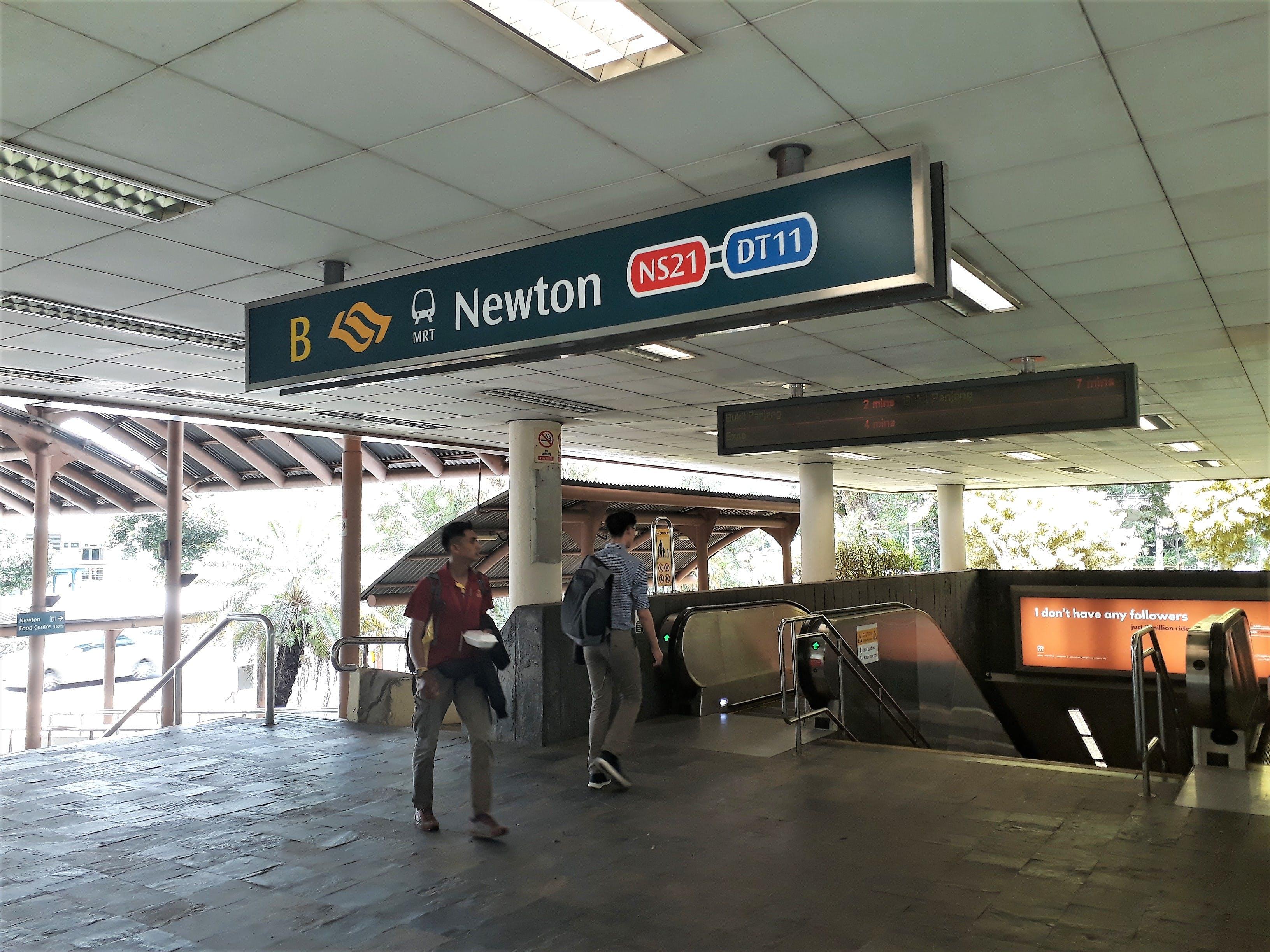 Newton MRT Station