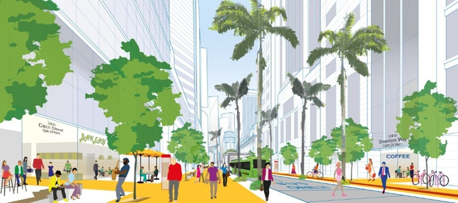 One Bernam residents will benefit greatly from the upcoming Downtown Masterplan, which will transform the surrounding area into a trendy, urban neighbourhood.