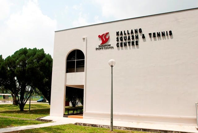 Bond over a game of tennis at Kallang's Squash & Tennis Centre