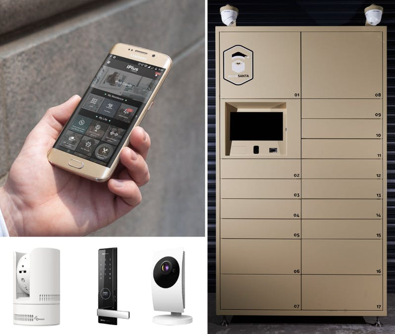 NYON incorporates smart home technology into daily living