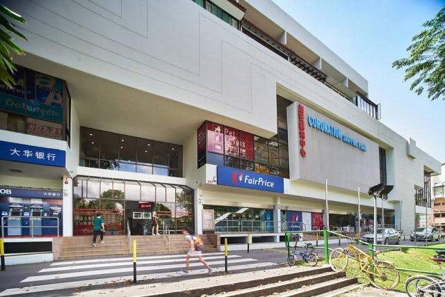 Coronation Shopping Plaza is just 3 minutes away