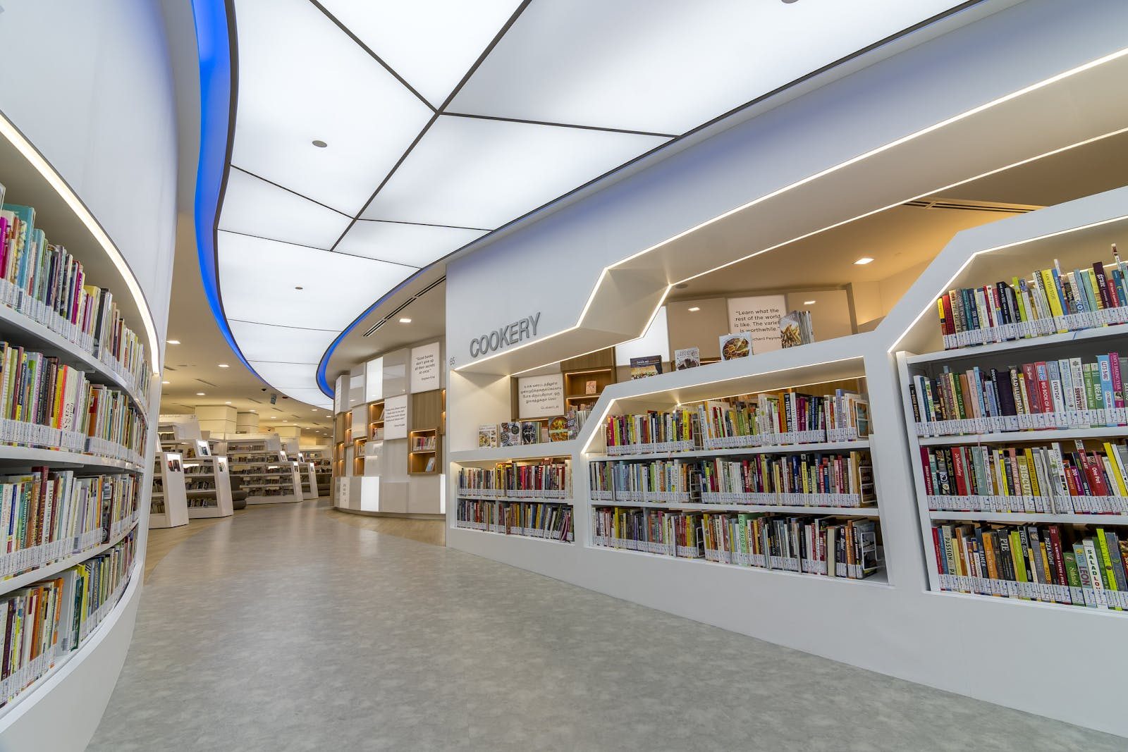 Cookery Section of Yishun Public Library