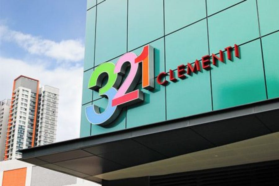 321 Clementi Mall, which residents of Ki Residences can visit
