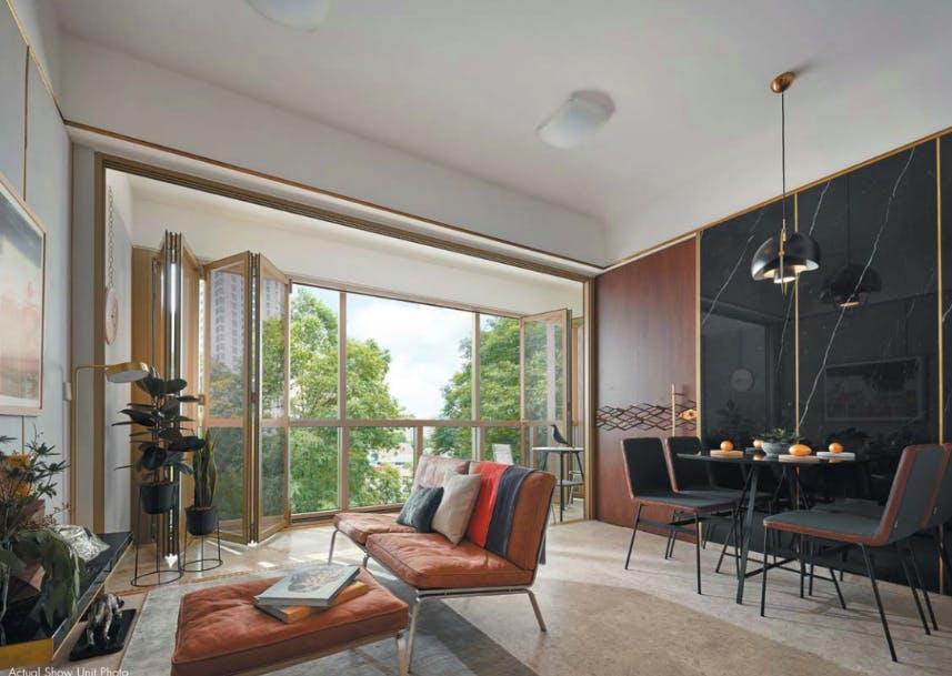 Interior furnishings of One Draycott.