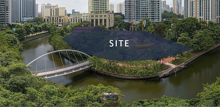 Site Plan of Riviere Condo