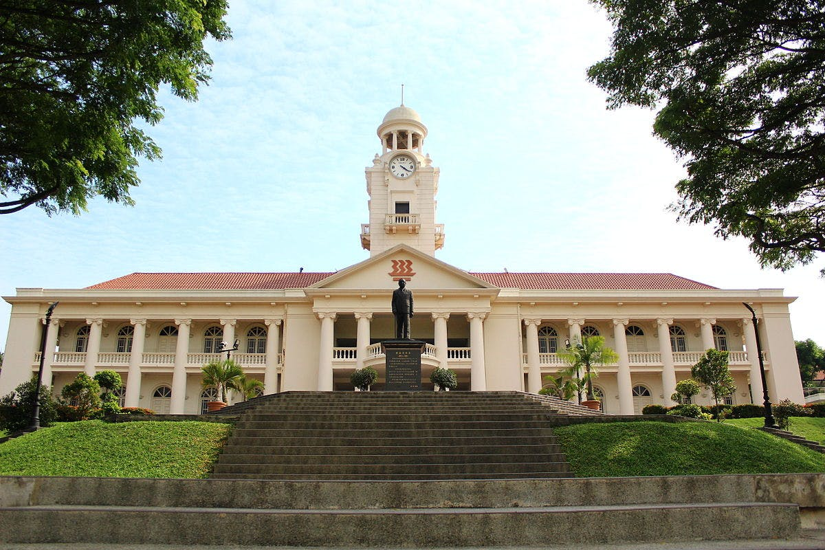 Hwa Chong Junior College just a short drive away