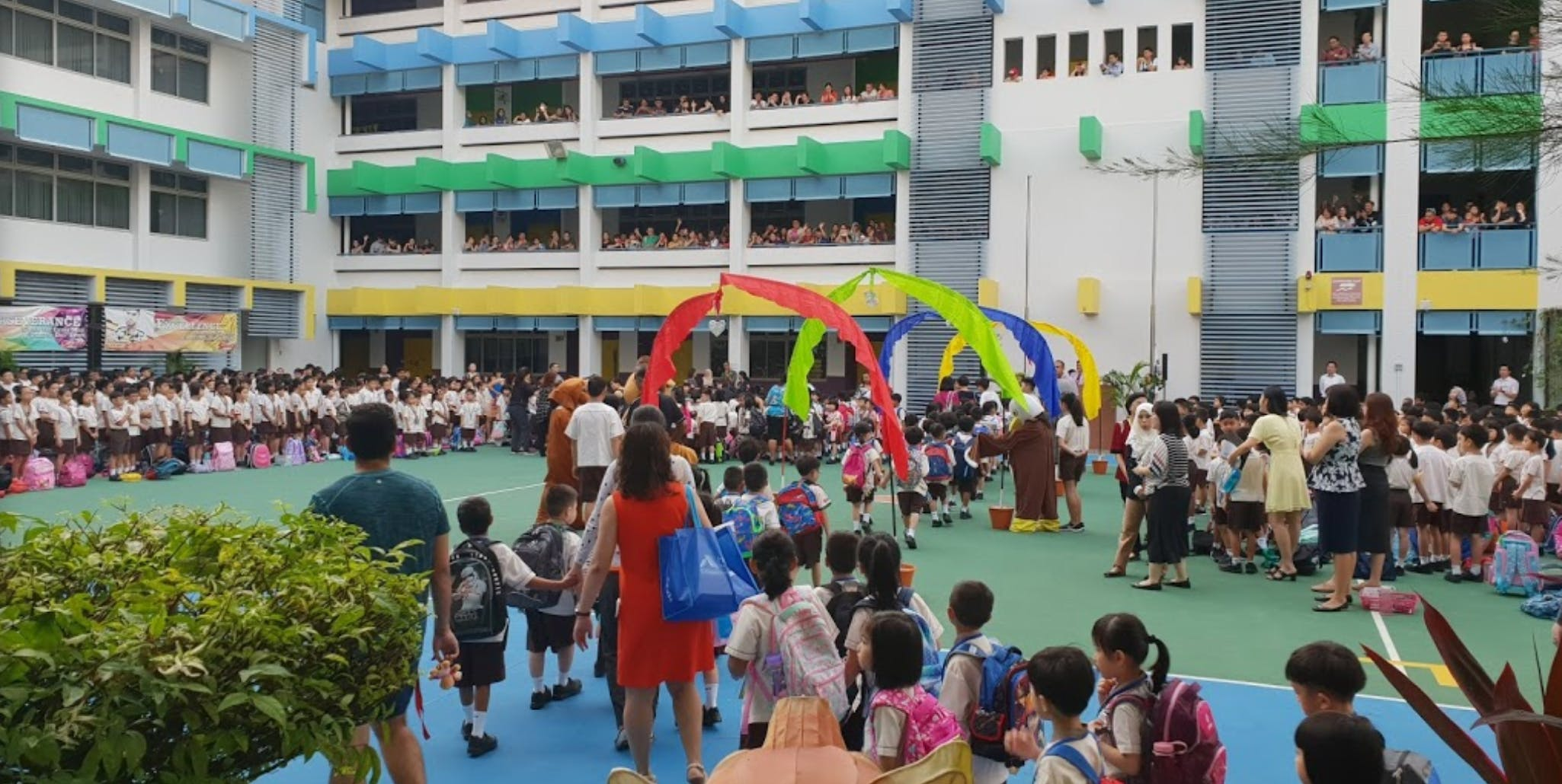 Fuhua Primary School activities