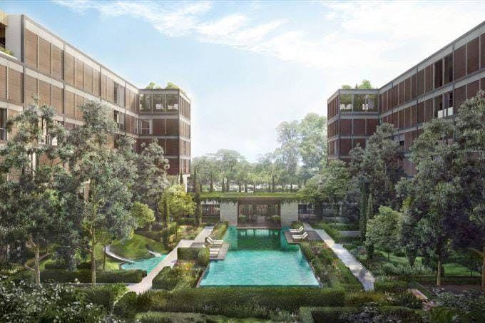 MeyerHouse is a new freehold condo in eastern Singapore