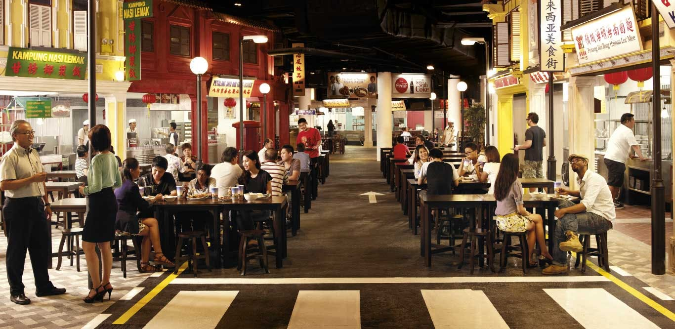 Malaysian Food Street at Resorts World Sentosa