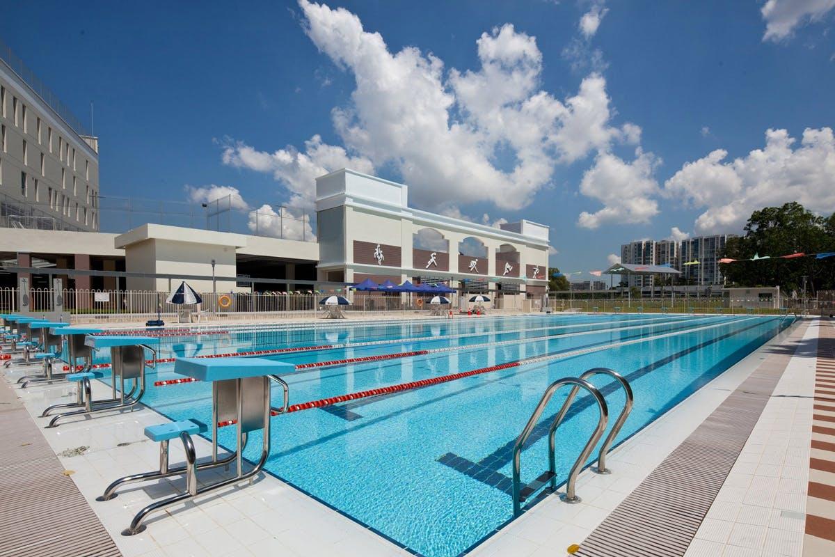 Chatsworth International School pool area