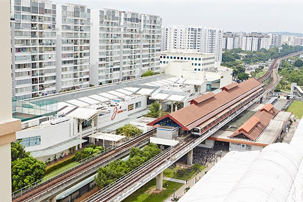 Boon Lay MRT Station in Jurong West