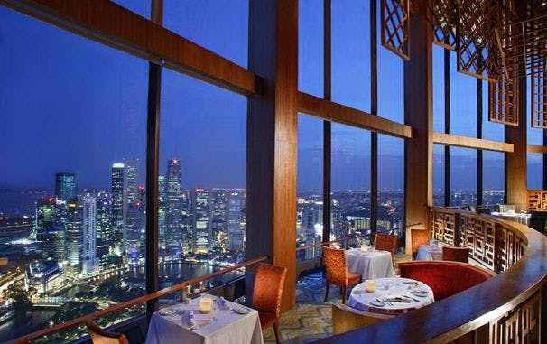 Equinox Restaurant and its exclusive setting