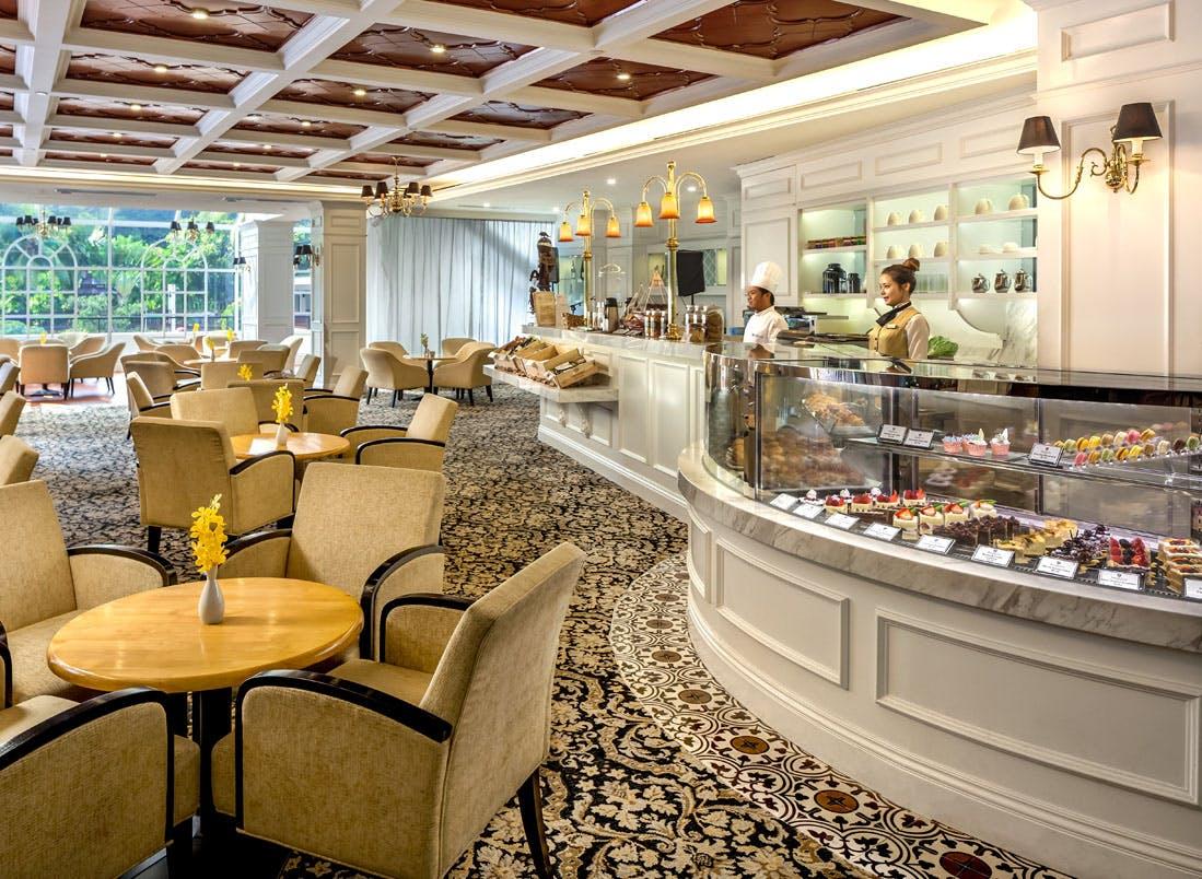 The Tanglin Club tearoom