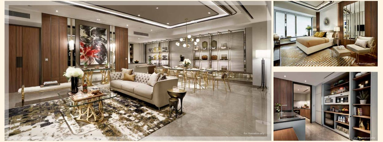 Top quality lush and lavish furnishings for the interior